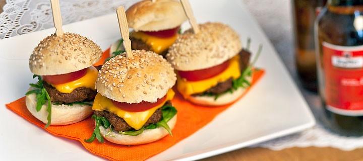 WK mini hamburgers
